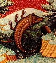 Scorpione ( Scorpio ) rappresentato in un libro di astrologia del XV secolo